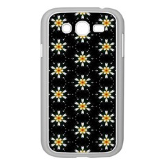 Background For Scrapbooking Or Other With Flower Patterns Samsung Galaxy Grand DUOS I9082 Case (White) by Nexatart