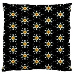 Background For Scrapbooking Or Other With Flower Patterns Large Flano Cushion Case (two Sides)