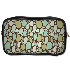 Leaf Camo Color Flower Floral Toiletries Bags 2 Side by Alisyart