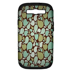 Leaf Camo Color Flower Floral Samsung Galaxy S Iii Hardshell Case (pc+silicone) by Alisyart