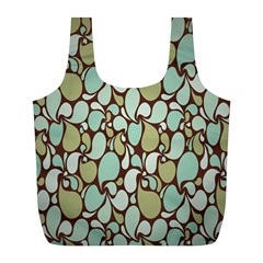 Leaf Camo Color Flower Floral Full Print Recycle Bags (l)  by Alisyart