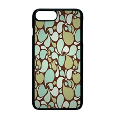 Leaf Camo Color Flower Floral Apple Iphone 7 Plus Seamless Case (black) by Alisyart