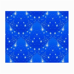 Background For Scrapbooking Or Other With Snowflakes Patterns Small Glasses Cloth
