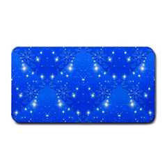 Background For Scrapbooking Or Other With Snowflakes Patterns Medium Bar Mats