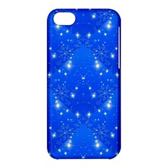 Background For Scrapbooking Or Other With Snowflakes Patterns Apple Iphone 5c Hardshell Case