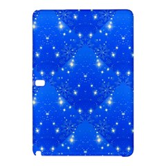 Background For Scrapbooking Or Other With Snowflakes Patterns Samsung Galaxy Tab Pro 12 2 Hardshell Case