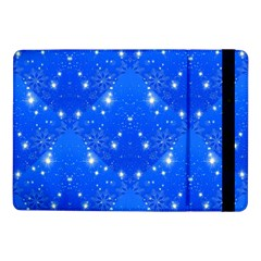 Background For Scrapbooking Or Other With Snowflakes Patterns Samsung Galaxy Tab Pro 10 1  Flip Case by Nexatart