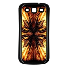 Background Pattern Samsung Galaxy S3 Back Case (black)