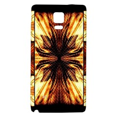 Background Pattern Galaxy Note 4 Back Case by Nexatart