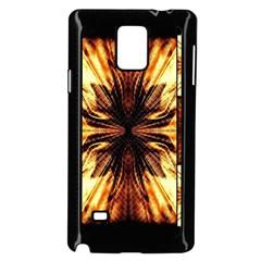 Background Pattern Samsung Galaxy Note 4 Case (black)