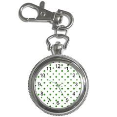 Saint Patrick Motif Pattern Key Chain Watches by dflcprints