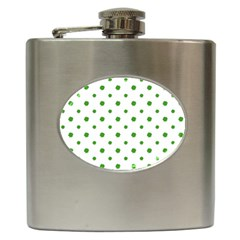 Saint Patrick Motif Pattern Hip Flask (6 Oz) by dflcprints