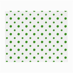 Saint Patrick Motif Pattern Small Glasses Cloth (2 Side) by dflcprints