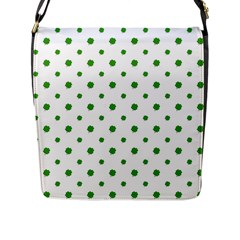Saint Patrick Motif Pattern Flap Messenger Bag (l)  by dflcprints