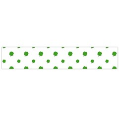 Saint Patrick Motif Pattern Flano Scarf (large)  by dflcprints