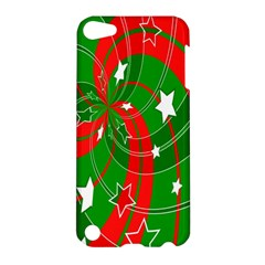 Background Abstract Christmas Apple Ipod Touch 5 Hardshell Case
