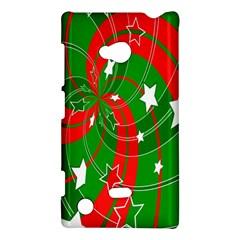 Background Abstract Christmas Nokia Lumia 720