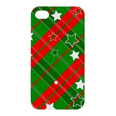 Background Abstract Christmas Apple Iphone 4/4s Hardshell Case