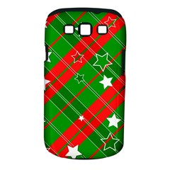 Background Abstract Christmas Samsung Galaxy S Iii Classic Hardshell Case (pc+silicone)