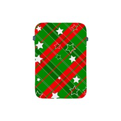 Background Abstract Christmas Apple Ipad Mini Protective Soft Cases