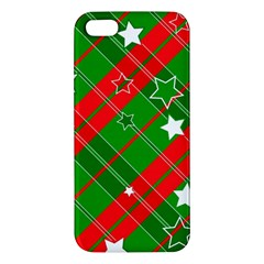 Background Abstract Christmas Iphone 5s/ Se Premium Hardshell Case
