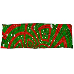 Background Abstract Christmas Pattern Body Pillow Case Dakimakura (two Sides)
