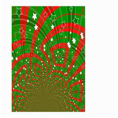 Background Abstract Christmas Pattern Small Garden Flag (two Sides)