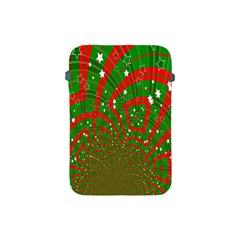 Background Abstract Christmas Pattern Apple Ipad Mini Protective Soft Cases