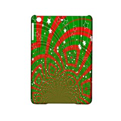 Background Abstract Christmas Pattern Ipad Mini 2 Hardshell Cases