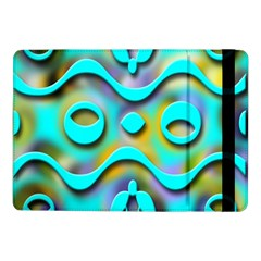 Background Braid Fantasy Blue Samsung Galaxy Tab Pro 10 1  Flip Case
