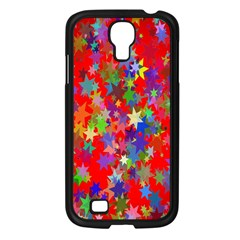 Background Celebration Christmas Samsung Galaxy S4 I9500/ I9505 Case (black)