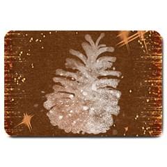 Background Christmas Tree Christmas Large Doormat  by Nexatart