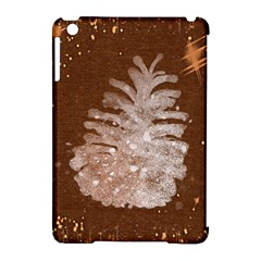 Background Christmas Tree Christmas Apple Ipad Mini Hardshell Case (compatible With Smart Cover) by Nexatart