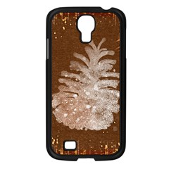 Background Christmas Tree Christmas Samsung Galaxy S4 I9500/ I9505 Case (black)