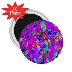 Background Celebration Christmas 2 25  Magnets (10 Pack)