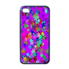 Background Celebration Christmas Apple Iphone 4 Case (black)