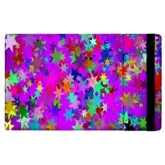 Background Celebration Christmas Apple Ipad 3/4 Flip Case