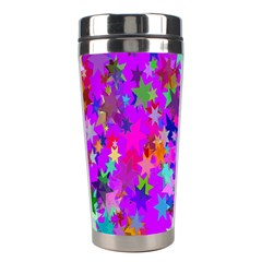Background Celebration Christmas Stainless Steel Travel Tumblers by Nexatart