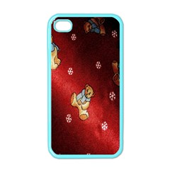 Background Fabric Apple Iphone 4 Case (color)
