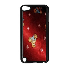 Background Fabric Apple Ipod Touch 5 Case (black)