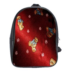 Background Fabric School Bags (xl)