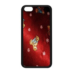 Background Fabric Apple Iphone 5c Seamless Case (black)