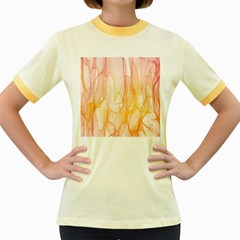 Background Modern Computer Design Women s Fitted Ringer T Shirts