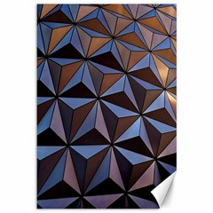 Background Geometric Shapes Canvas 12  x 18