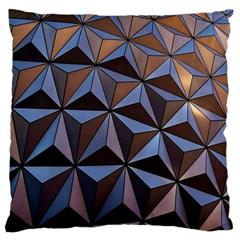Background Geometric Shapes Large Cushion Case (two Sides) by Nexatart