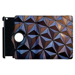 Background Geometric Shapes Apple Ipad 3/4 Flip 360 Case