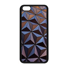 Background Geometric Shapes Apple Iphone 5c Seamless Case (black)