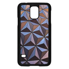 Background Geometric Shapes Samsung Galaxy S5 Case (black)