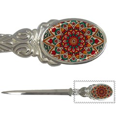 Background Metallizer Pattern Art Letter Openers