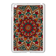 Background Metallizer Pattern Art Apple Ipad Mini Case (white)